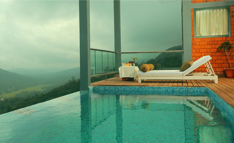 Honeymoon Resorts In Munnar Luxury Munna With Private Pool Villa Jacizzi