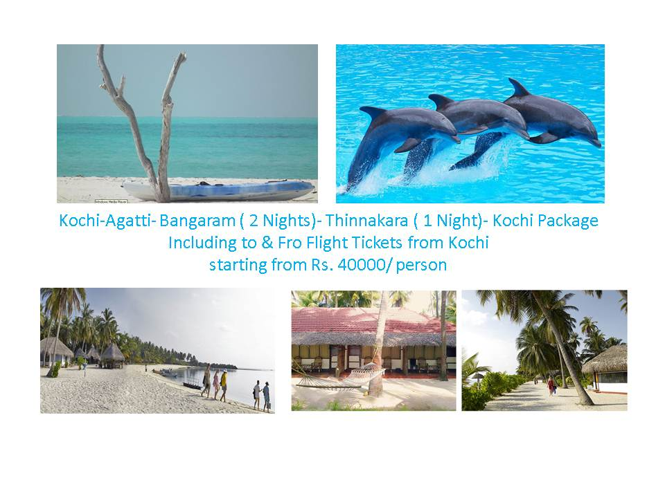 Bangaram Stay package by flight